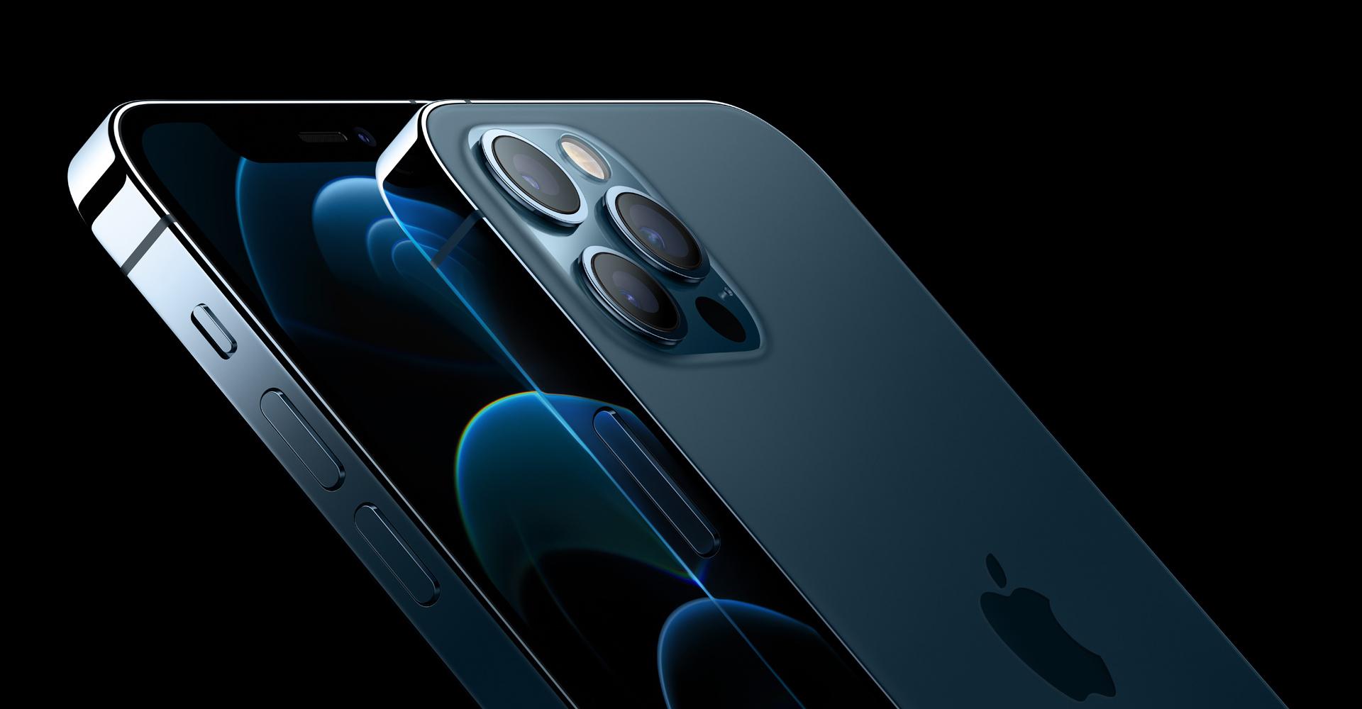 iPhone 12 Pro Max Vorder- und Rückseite