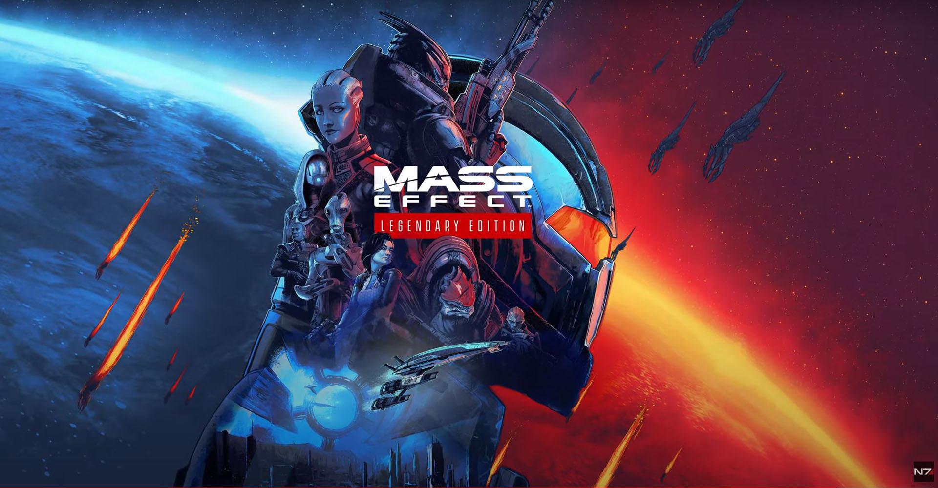 """Screenshot von dem Reveal-Trailer zu """"Mass Effect: Legendary Edition""""."""
