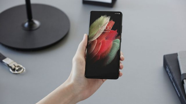 Pressebild des Samsung Galaxy S21 Ultra.