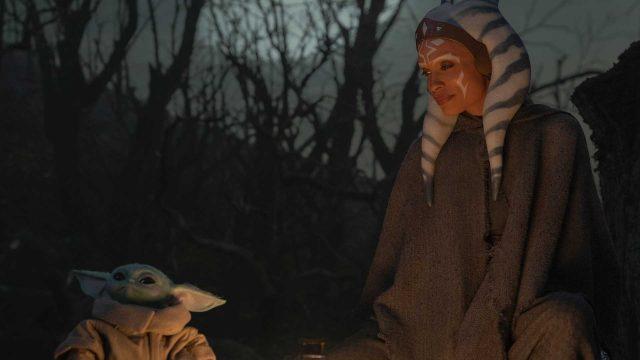 Ahsoka und Baby Yoda in The Mandalorian