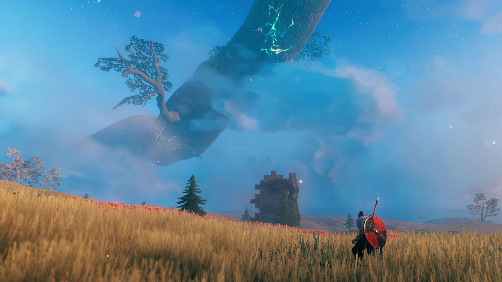 Ein Screenshot aus dem Spiel Valheim.