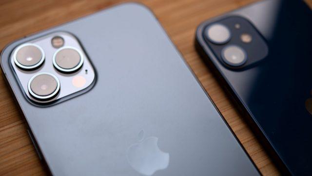iPhone 12 Pro Max und iPhone 12 mini