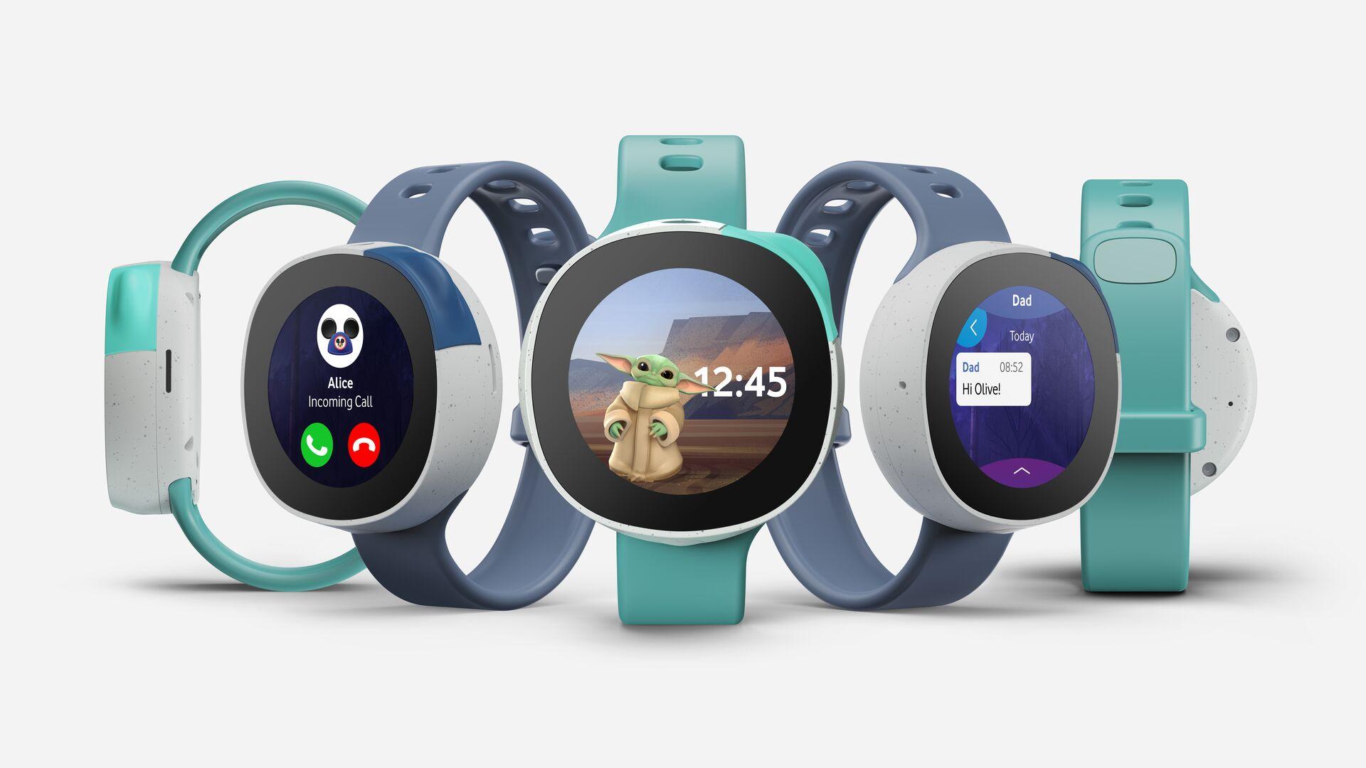 Die Neo Smart Kids Watch in verschiedenen Farben und mit verschiedenen Funktionen.