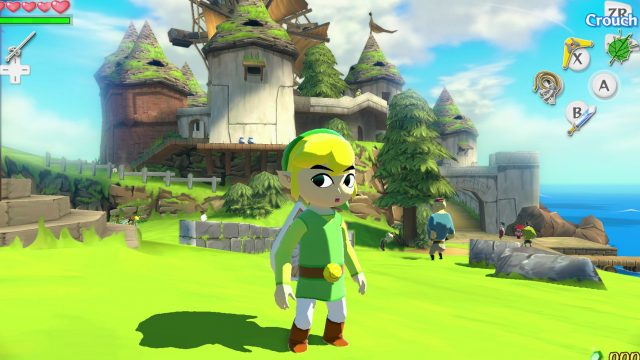 "Screenshot aus dem Zelda-Spiel ""The Wind Waker"""