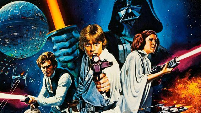 Poster zu Star Wars 4