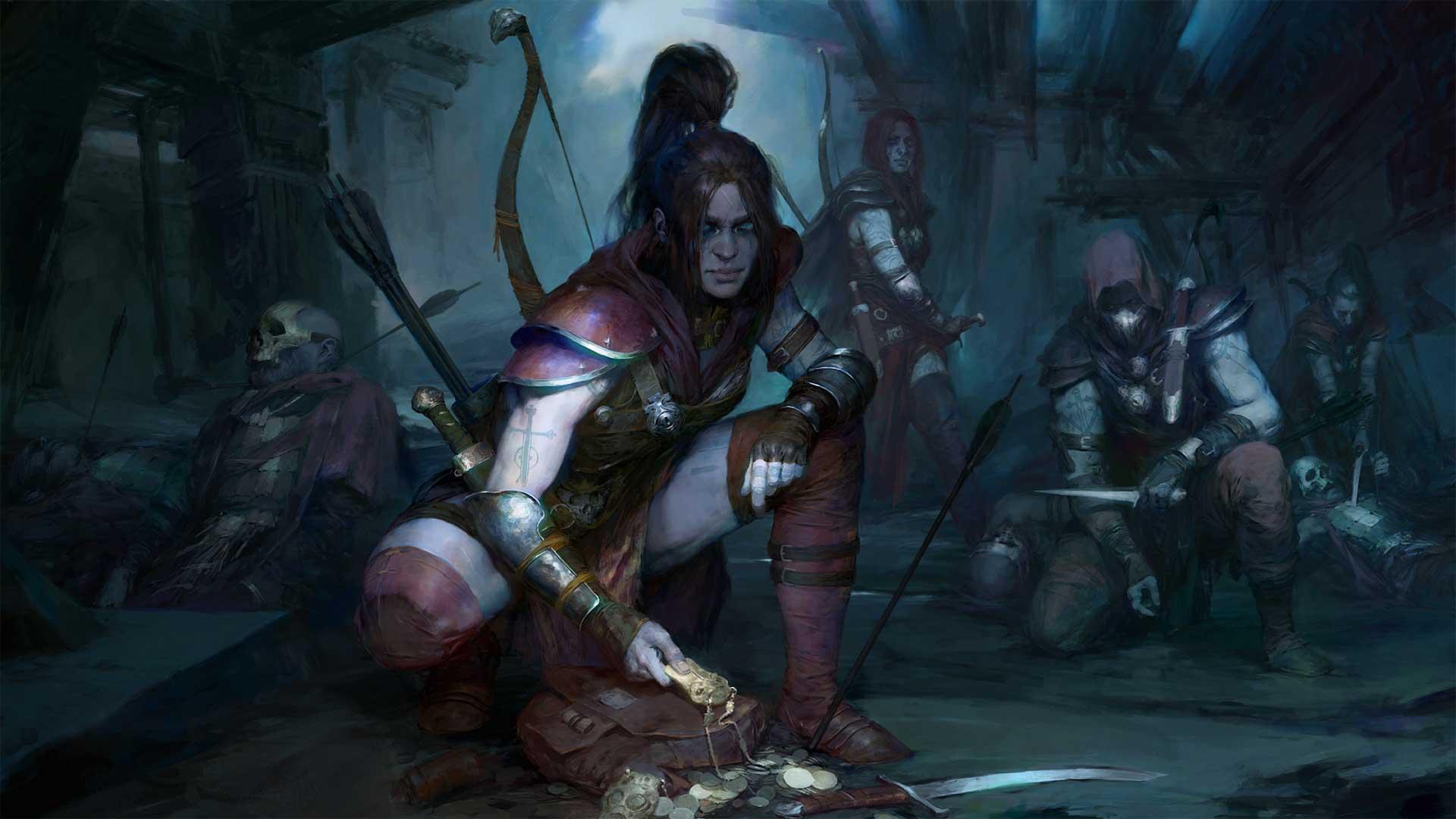 Neuer Rogue Charakter für Diablo