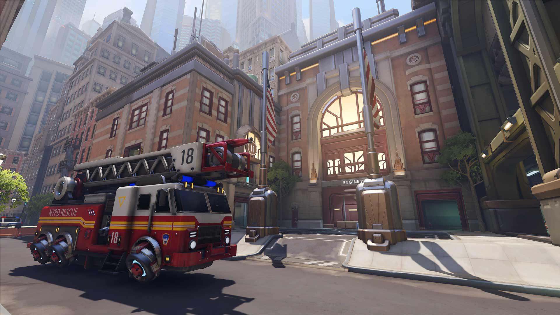 Overwatch 2 New York Map