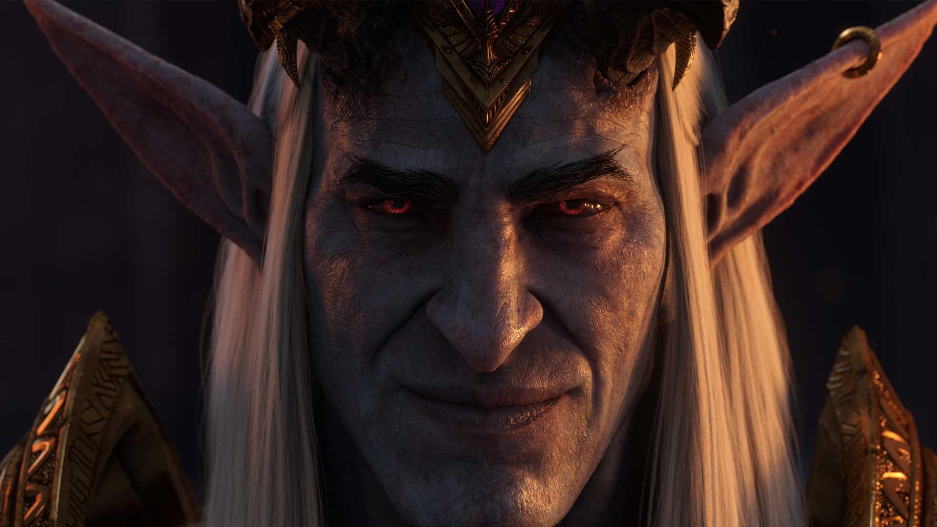Denathrius aus World of Warcraft Shadowlands im Porträt