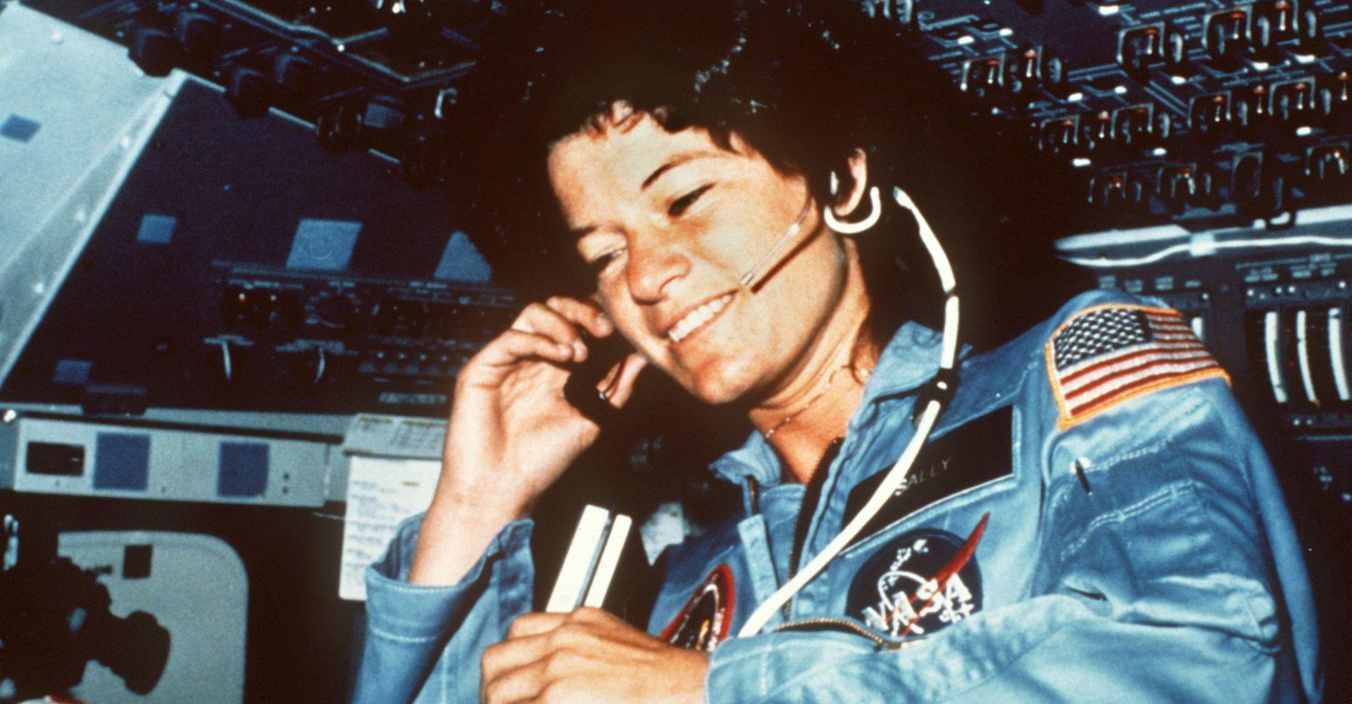 Astronautin Sally Ride