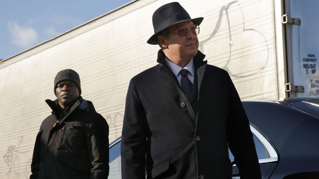"Hisham Tawfiq und James Spader in ""The Blacklist"""