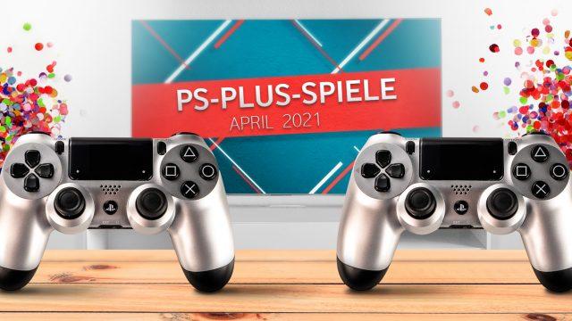 Banner für PS Plus Games April 2021