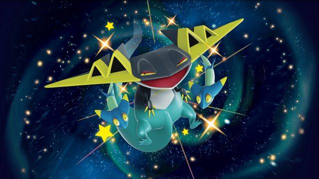 Das schillernde Pokémon Katapuldra