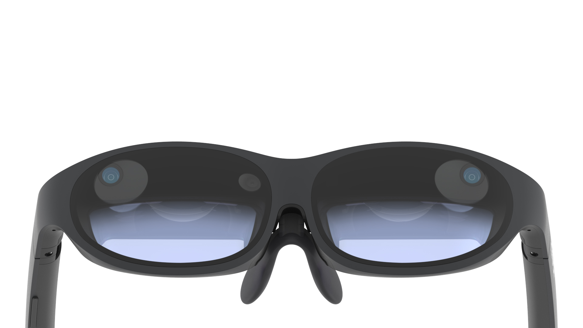 Die Mixed-Reality-Brille Nreal Light.
