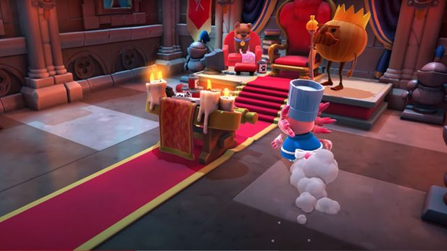"""Screenshot aus dem Trailer des Xbox-Familienspiels """"Overcooked! All You Can Eat"""""""