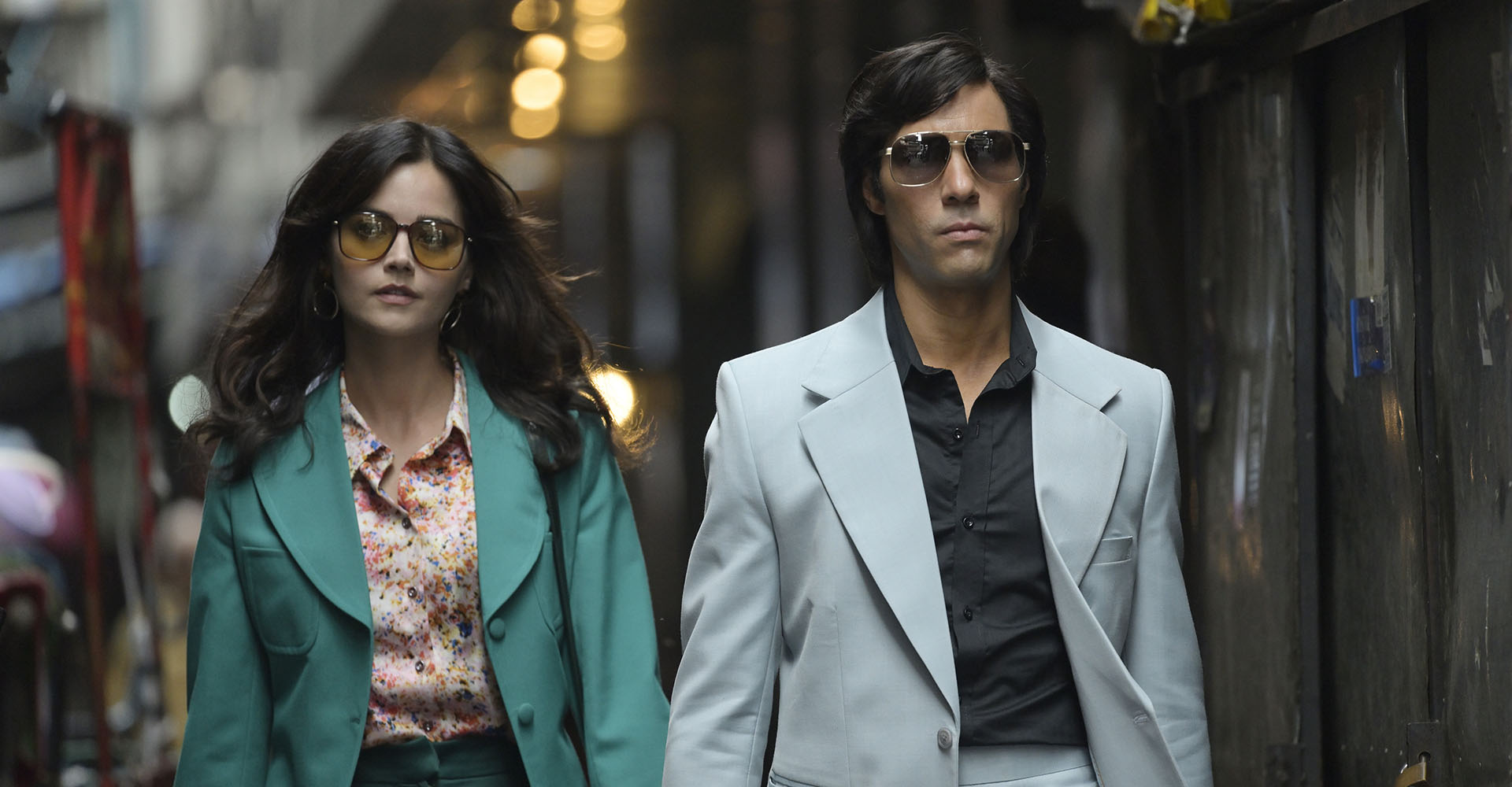 Jenna Coleman und Tahar Rahim in Die Schlange