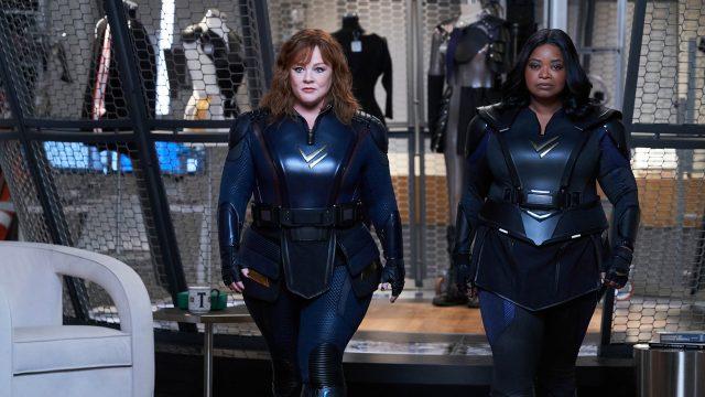 Melissa McCarthy und Octavia Spencer in Thunder Force