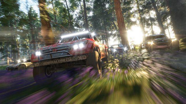 Ein Autorennen in Forza Horizon 4