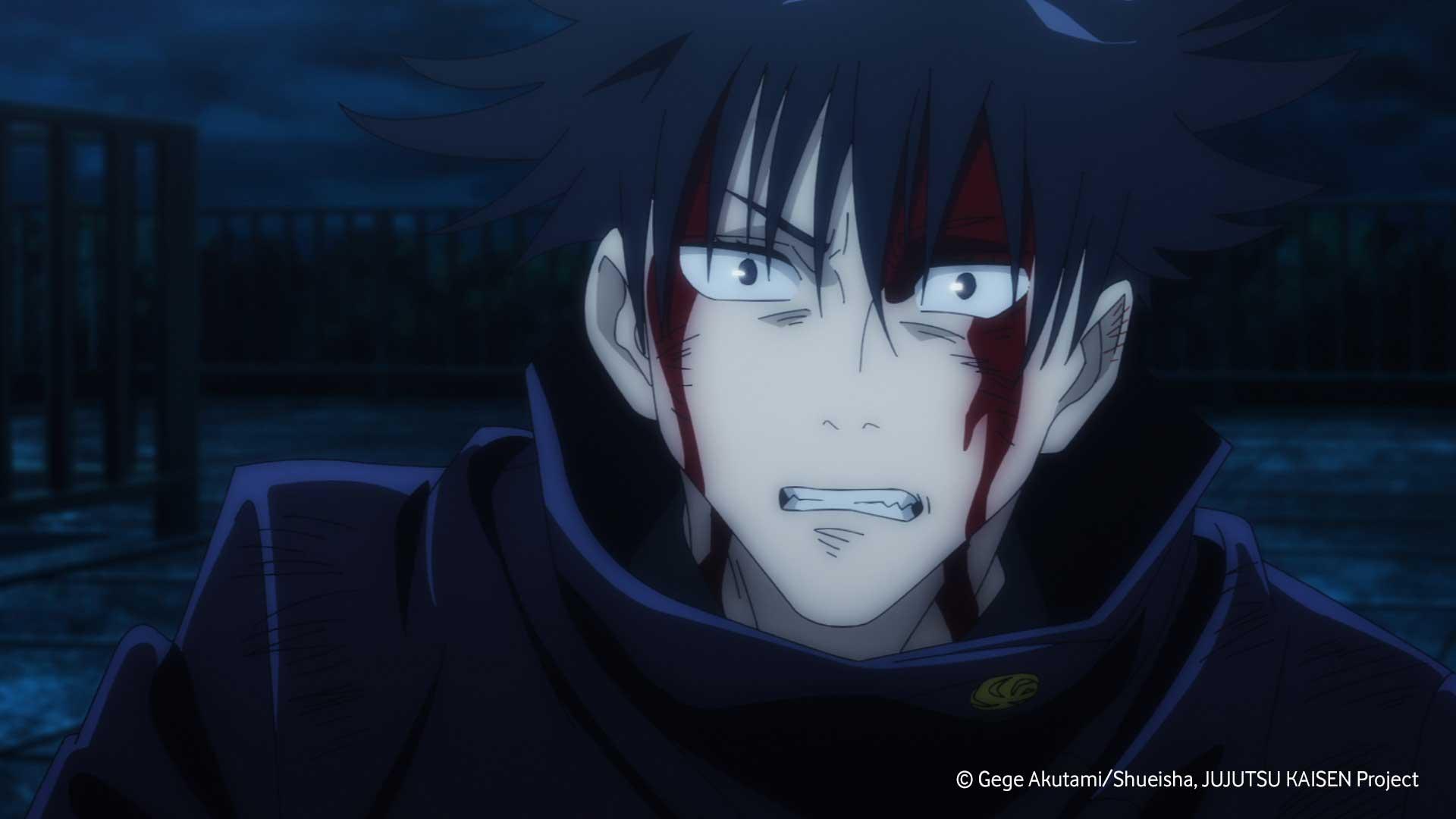 Megumi blutet in Jujutsu Kaisen