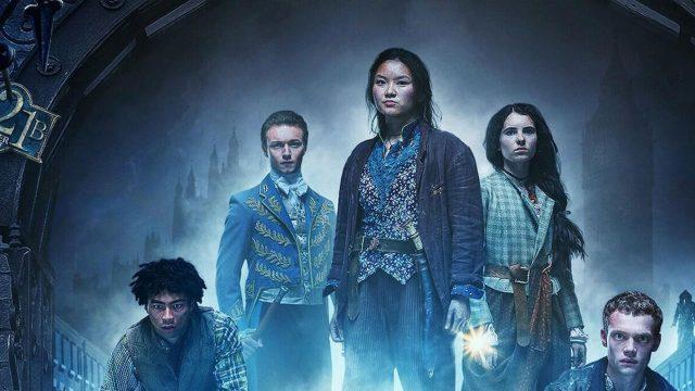 Poster der Netflix-Serie Die Bande aus der Baker Street