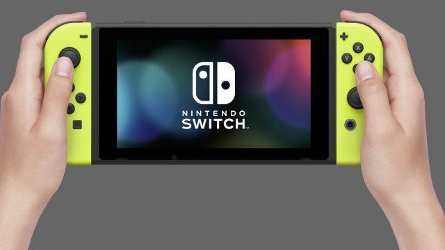 Die Nintendo Switch.