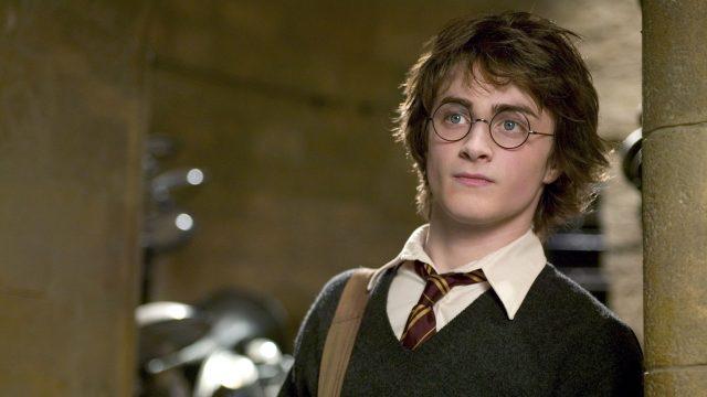 Harry Potter aus dem Film Harry Potter und der Feuerkelch.