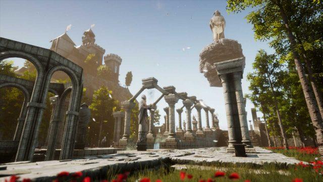 Ruinen im Videospiel Legion: The Eternal War
