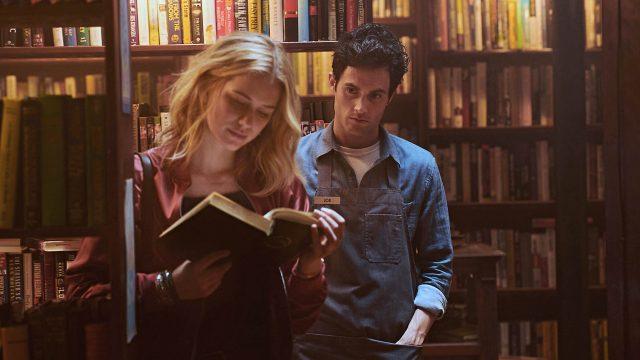 Joe und Beck im Buchladen, 1. Staffel der Netflix-Serie You