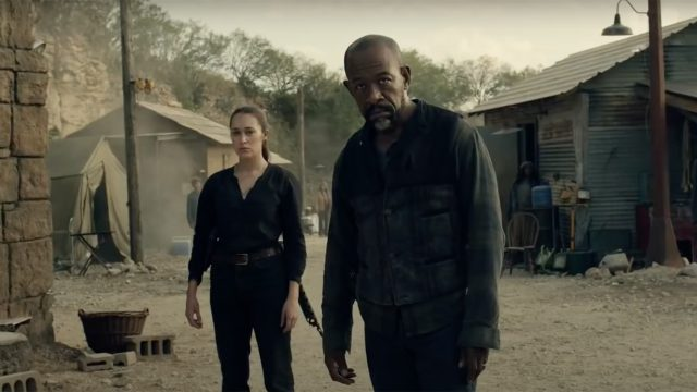 Lennie James als Morgan Jones in Staffel 6B von Fear The Walking Dead