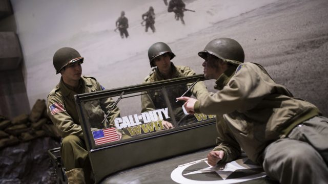 """Promoveranstaltung für """"Call of Duty: WWII"""""""