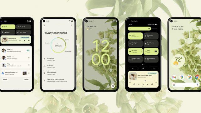 Promobild zu Android 12