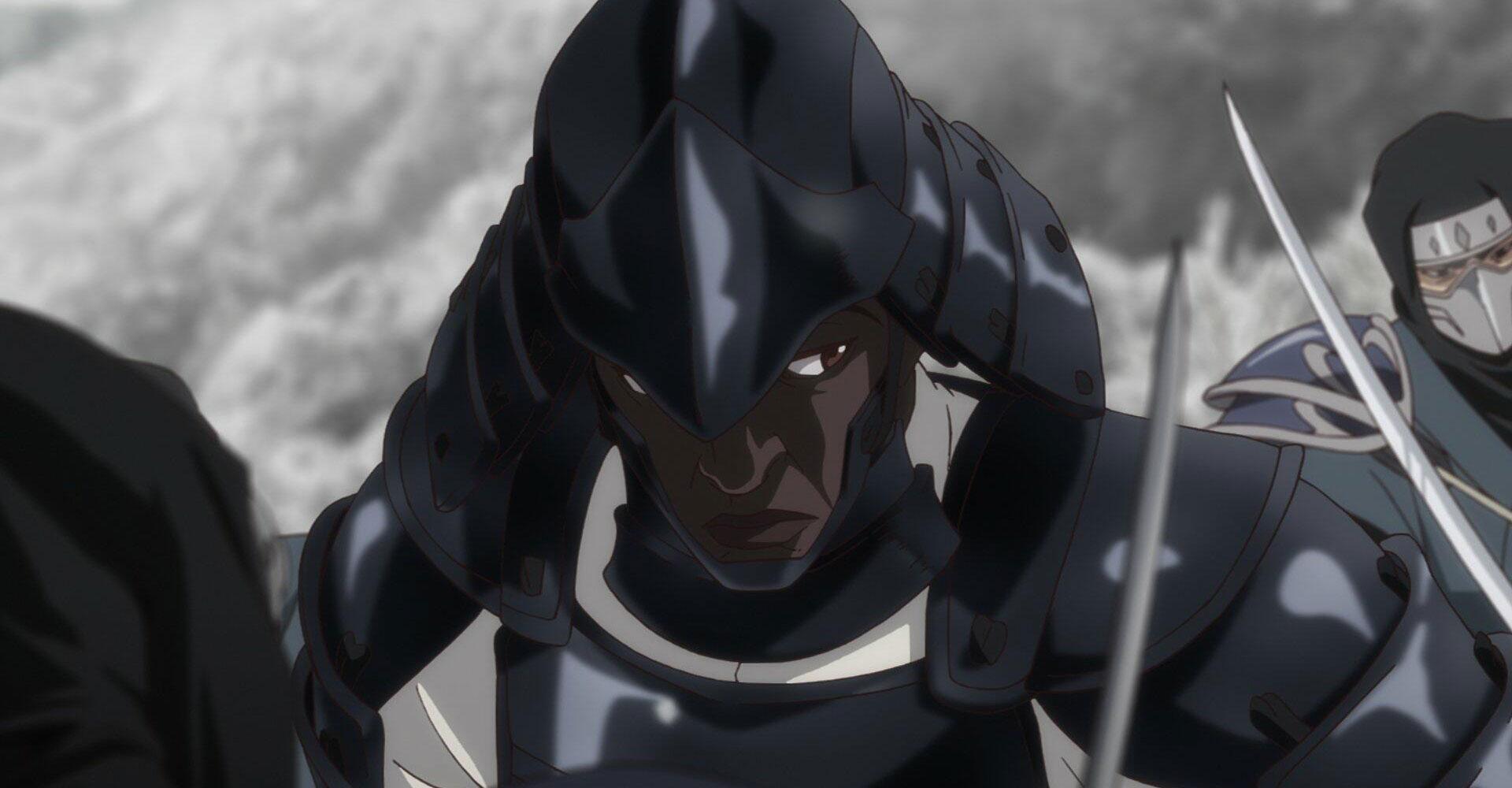 Szenenbild aus der Netflix-Anime-Serie Yasuke