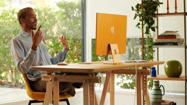 Der neue iMac in Gelb