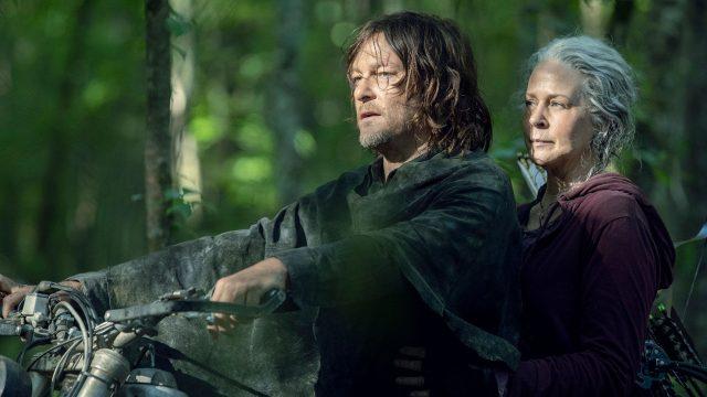 Daryl und Carol in Staffel 10 von The Walking Dead
