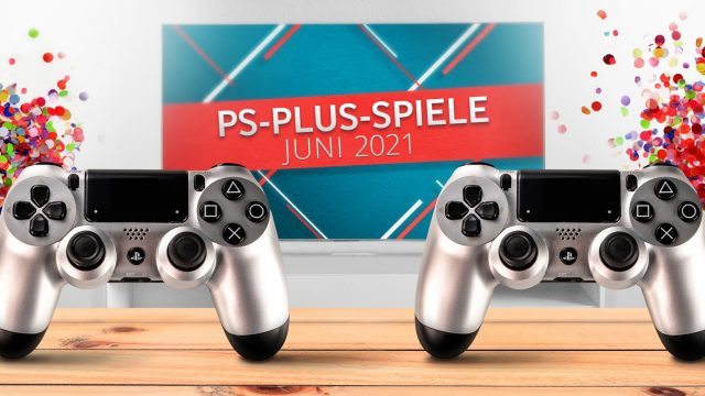 Banner für PS Plus Games Juni 2021