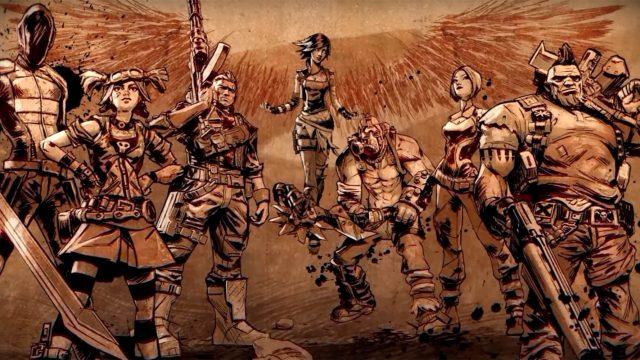 Figuren aus Borderlands 2, die auch im Borderlands-Film mitspielen