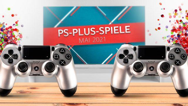 Banner für PS Plus Games Mai 2021