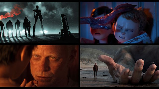 Verschiedene Szenen aus Love , Death + Robots Staffel 2
