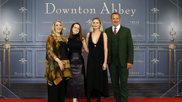 Die Hauptdarsteller des ersten Downton-Abbey-Films
