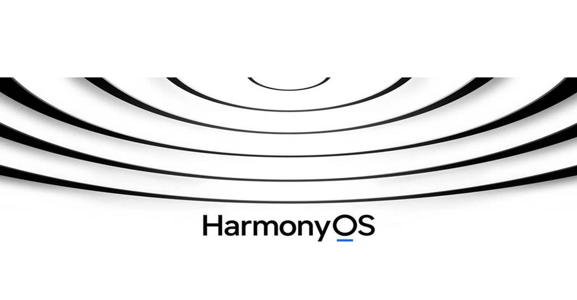 Harmons OS Logo: konnzentrische Halbkreise in Schwarz