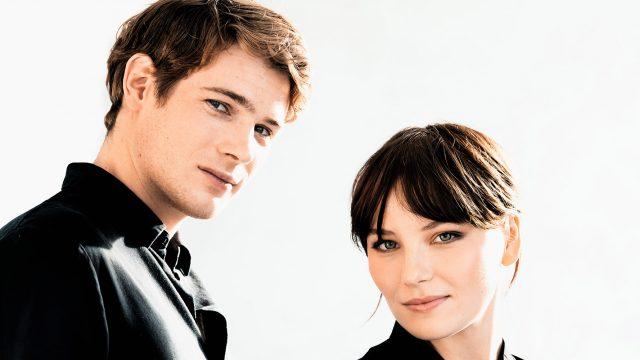 Philip Froissant und Devrim Lingnau spielen die Hauptrollen in der neuen Sissi-Serie bei Netflix