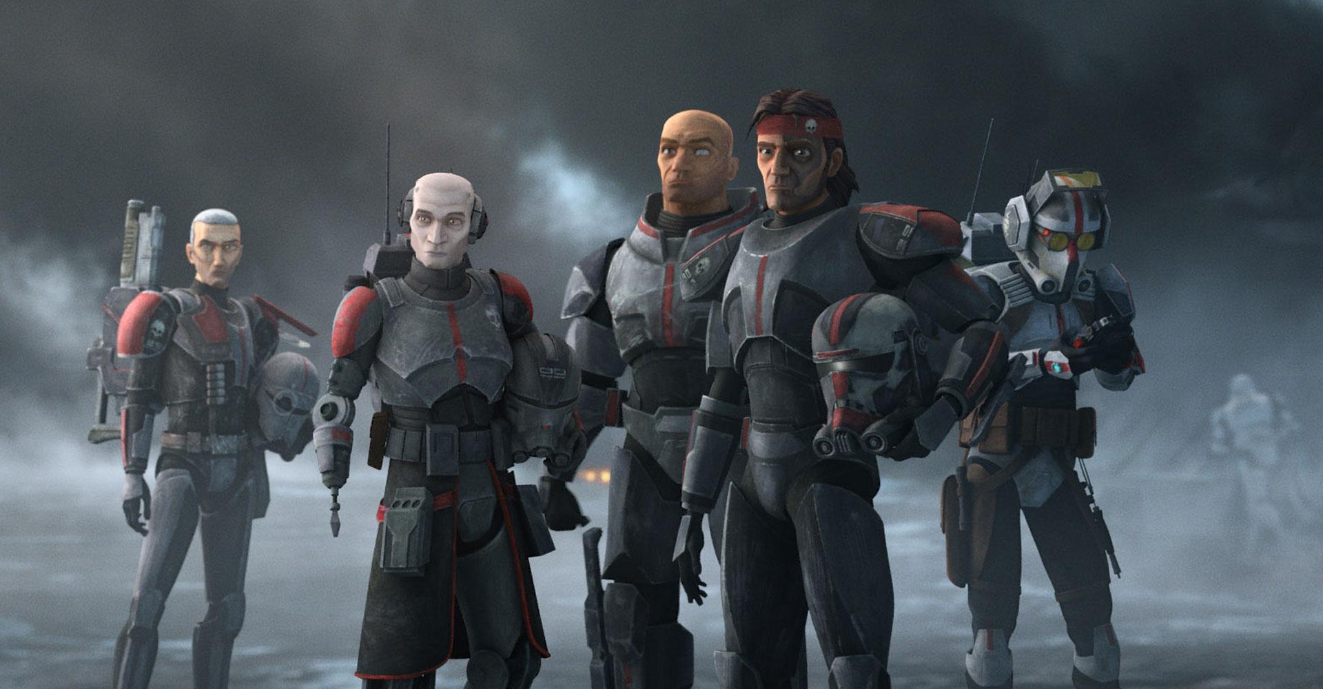 Bild aus der Serie Star Wars: The Bad Batch