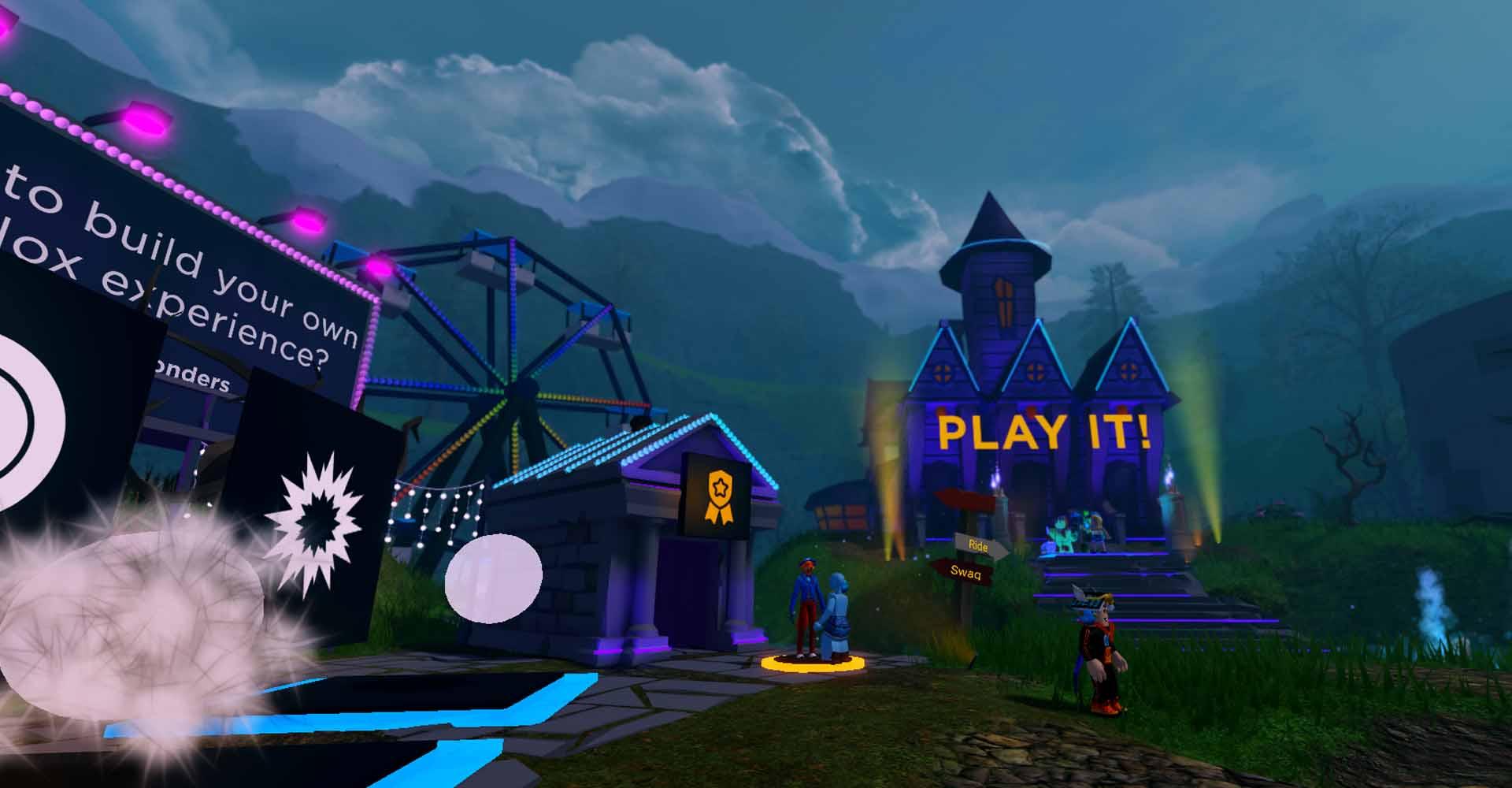 Die Swag-Bude im Spiel Mansion of Wonder von Roblox