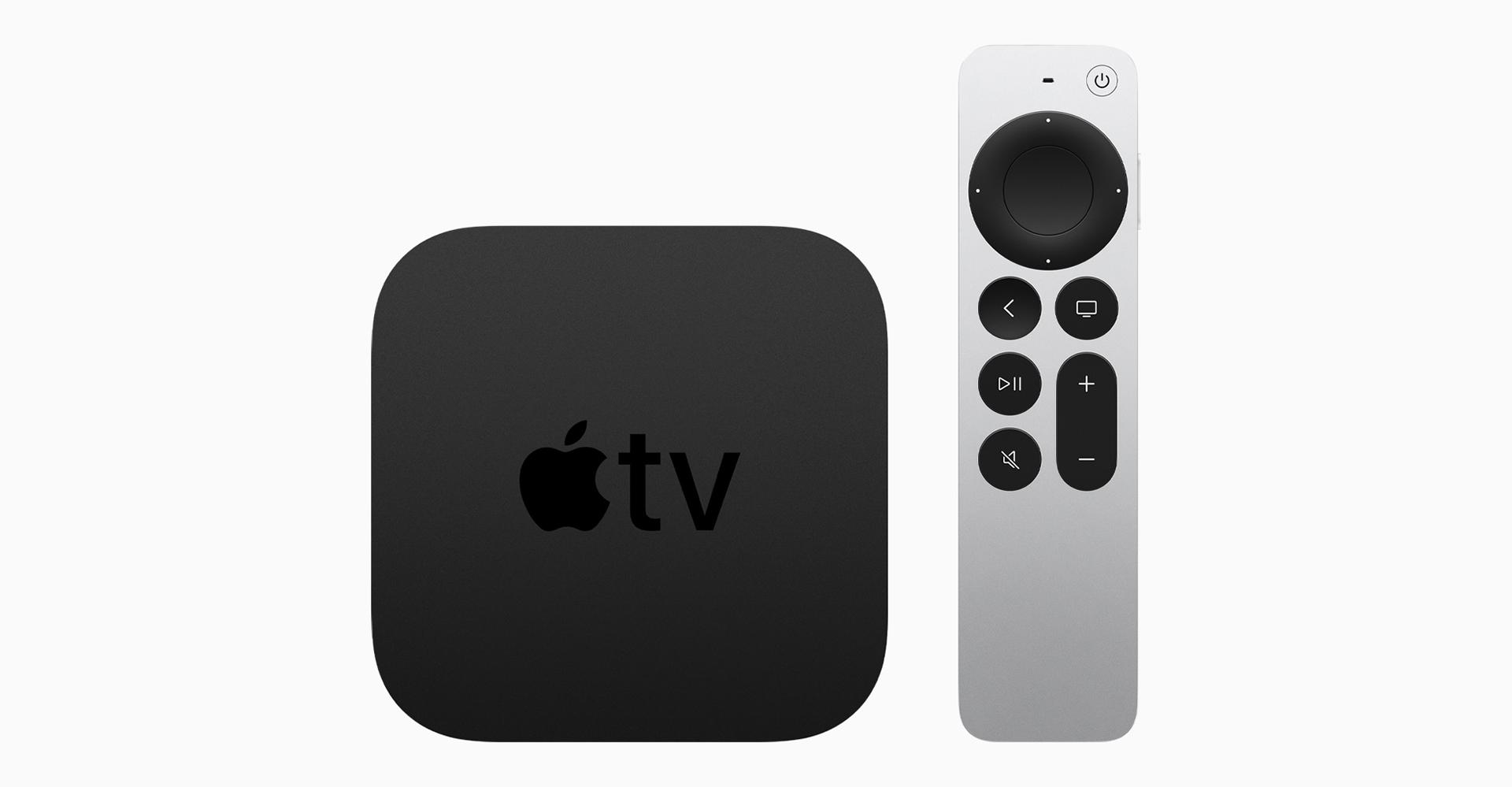 Apple TV 4K 2021 und Siri Remote 2