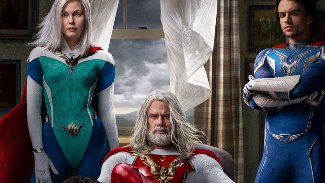 Plakat der Netflix-Serie Jupiter's Legacy