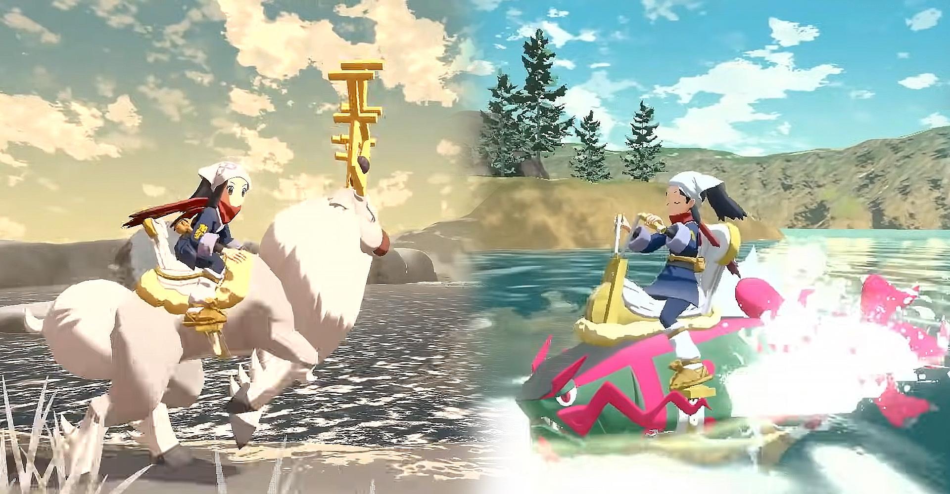 Die neuen Entwicklungen Damythir und Salmagnis in Pokémon-Legenden: Arceus