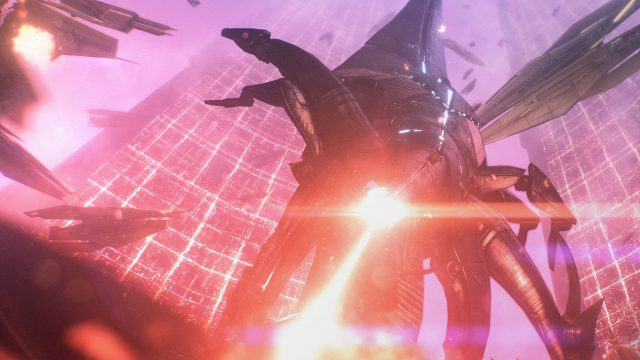 Ein Alien aus dem Spiel Mass Effect Legendary Edition