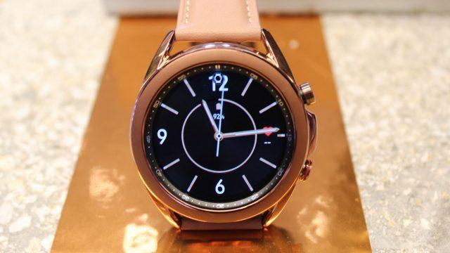Die Galaxy Watch 3 von Samsung