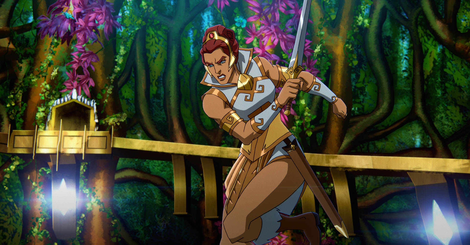 Teela in Masters of the Universe: Revelation