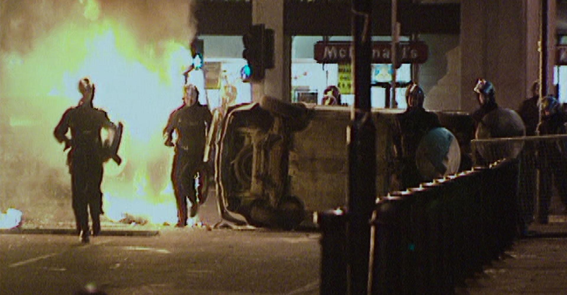Bild aus der Netflix-Doku Der Nagelbomber von London