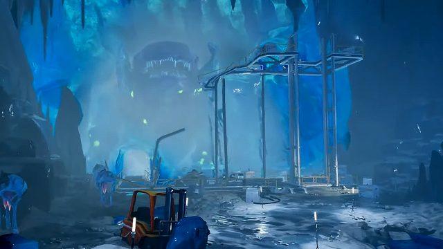 Der Eingefrorene Leviathan in Subnautica: Below Zero